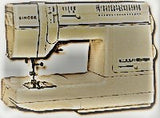 Singer Sewing Machine Instruction Manual (hardcopy) model 9224