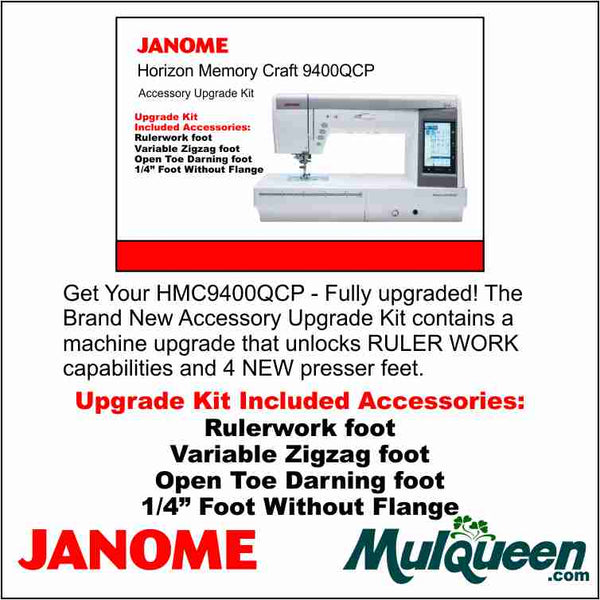 Janome 9400 QCP Upgrade Kit