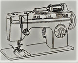 Singer Sewing Machine Instruction Manual (hardcopy) model 972