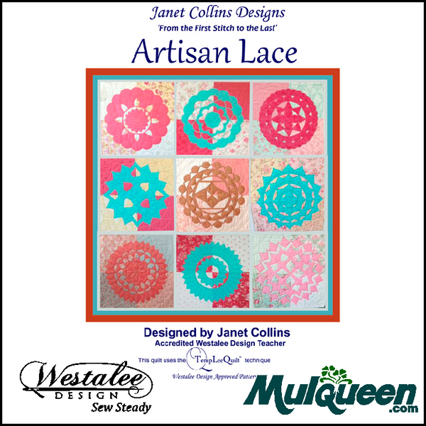 Westalee ruler recommended book Janet Collins Artisan Lace Book