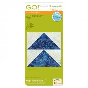 "Accuquilt Go! - Flying Geese 3 1/2"" x 6 1/2"" - 55456"