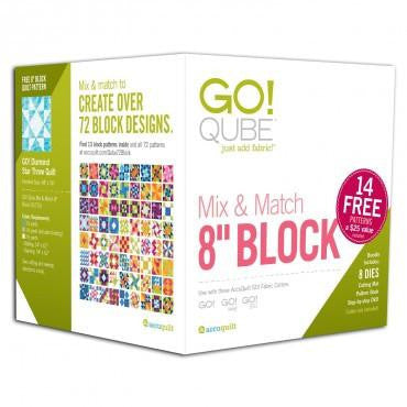 "Accuquilt GO! Qube - 8"" Mix & Match"