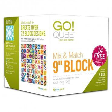 "Accuquilt GO! Qube - 9"" Mix & Match - 55777"
