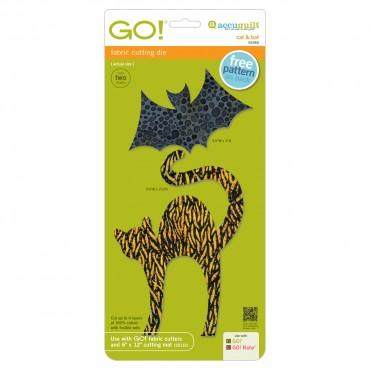 Accuquilt Go! Cat & Bat - 55365