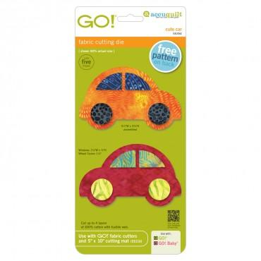Accuquilt Go! - Cute Car - 55354