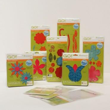 Accuquilt Go! - Flower Power Die Bundle - 55405