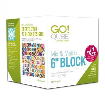 "Accuquilt GO! - Qube 6"" Block - Mix & Match - 55775"