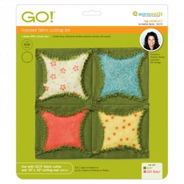 "Accuquilt Go! - Rag Circles - 6 1/2"" by Heather Banks - 55170"
