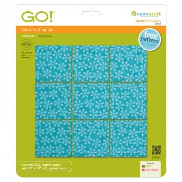 "Accuquilt Go! - Square 2 1/2"" Multiples - Finished 2"" - 55059"
