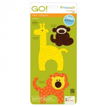 Accuquilt Go! Zoo Animals - 55369