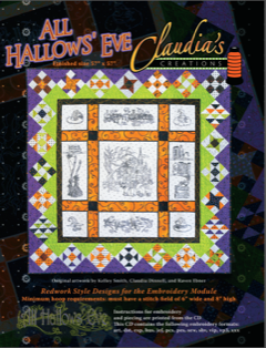 All Hallow's Eve Quilt by Claudia's Creations - Tempe