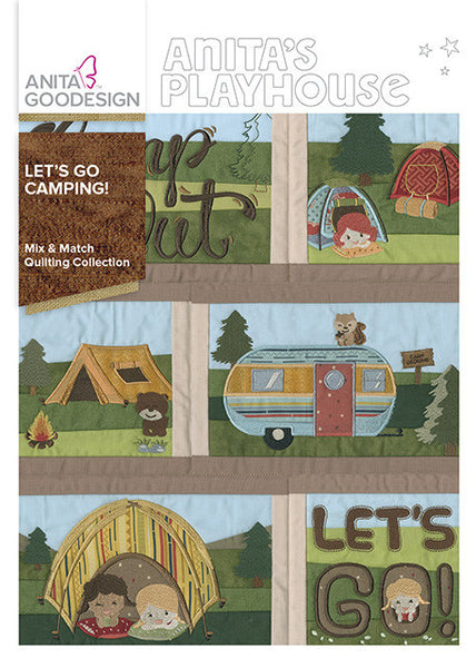 Anita Goodesign - Anita's Playhouse - Let's Go Camping