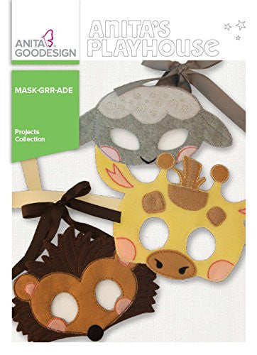 Anita Goodesign - Anita's Playhouse - Mask Grr- Ade