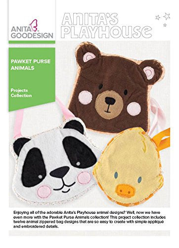 Anita Goodesign - Anita's Playhouse - Pawket Purse Animals