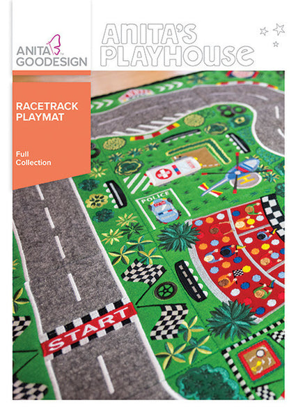 Anita Goodesign - Anita's Playhouse - Racetrack Playmat