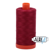 Aurifil - 50wt Cotton Mako Thread  - Burgundy #1103