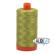 Aurifil - 50wt Cotton Mako Thread  - Light Leaf Green #1147