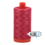 Aurifil - 50wt Cotton Mako Thread  - Red Peony #2230