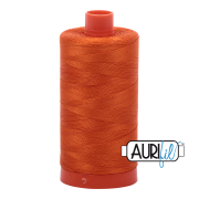 Aurifil - 50wt Cotton Mako Thread  - Orange #2235
