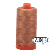 Aurifil - 50wt Cotton Mako Thread  - Light Cinnamon #2335