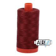 Aurifil - 50wt Cotton Mako Thread  - Rust #2355