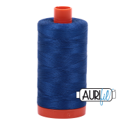 Aurifil - 50wt Cotton Mako Thread  - Dark Colbalt #2740