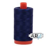 Aurifil - 50wt Cotton Mako Thread  - Midnight #2745