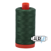 Aurifil - 50wt Cotton Mako Thread  - Pine #2892