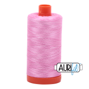 Aurifil - 50wt Cotton Mako Variegated Thread  - Bubblegum #3660