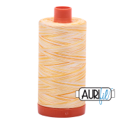 Aurifil - 50wt Cotton Mako Variegated Thread  - Limoni de Monterosso #4658