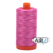 Aurifil - 50wt Cotton Mako Variegated Thread  - Pink Taffy #4660