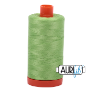Aurifil - 50wt Cotton Mako Thread  - Shining Green #5017