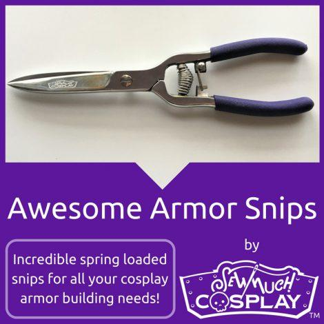 Awesome Armor Cosplay Snips by Sew Much Cosplay