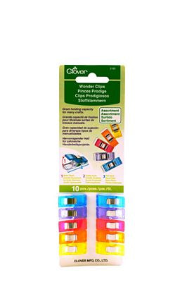 Wonder Clips Assorted Colors - 10 pack