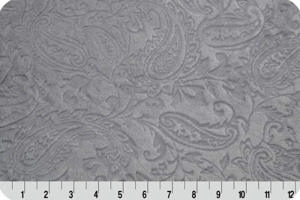Shannon Cuddle - Embossed Paisley - Silver