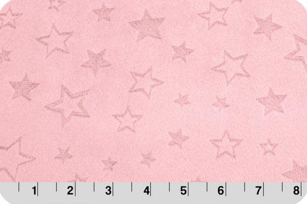 Shannon Cuddle - Embossed Star - Blush