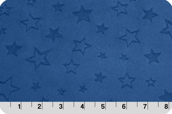 Shannon Cuddle - Embossed Star - Midnight Blue