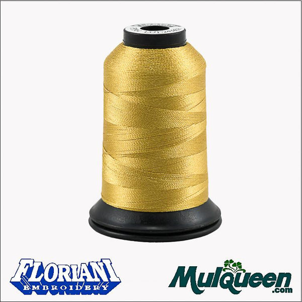 Floriani - Polyester Embroidery Thread - #PF0561 - Old Ivory, 1000m/1100yds