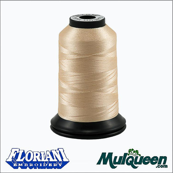 Floriani - Polyester Embroidery Thread - #PF0591 - Shell, 1000m/1100yds
