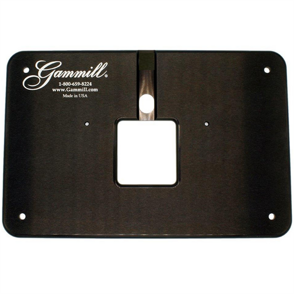 "Extended Throat Plate for the 22"", 26"" and 30"" Gammill"