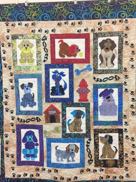 Mixed Mutts or Cats Meow by Lunch Box Quilts