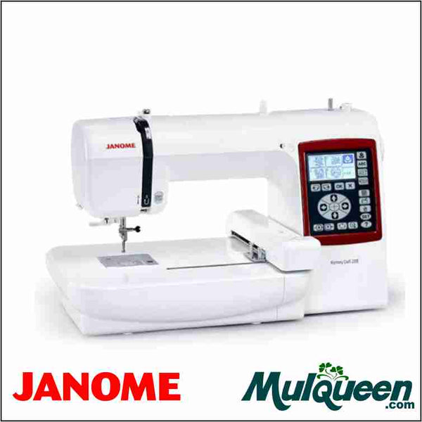 Janome mc230e embroidery machine from Mulqueen sewing