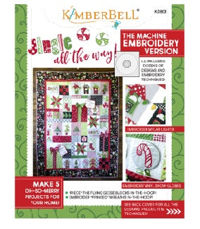 "Kimberbell - ""Jingle All The Way"" Quilt"