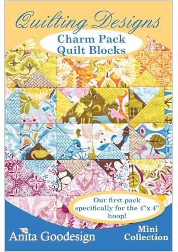 Anita-Goodesign - Mini - Charm Pack Quilt Blocks