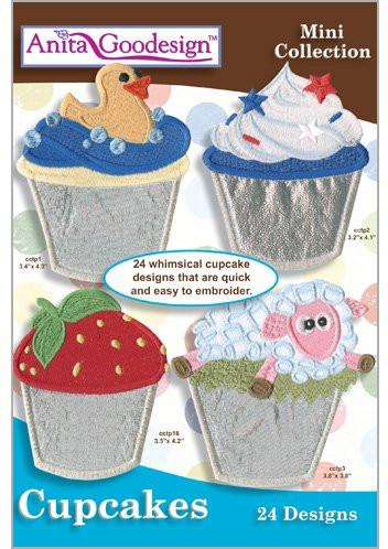 Anita-Goodesign - Mini - Cupcakes