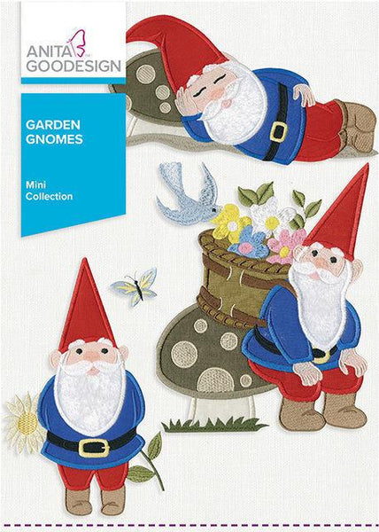 Anita-Goodesign - Mini - Garden Gnomes
