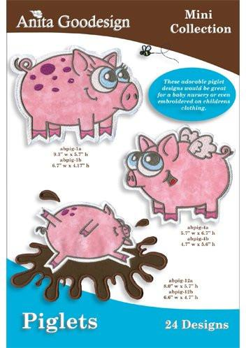 Anita-Goodesign - Mini - Collection - Piglets