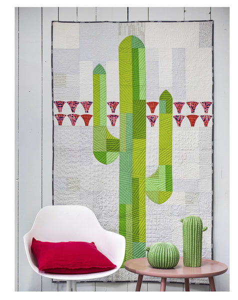 Mod Cactus with Helen Robinson of Sew Kind of Wonderful !