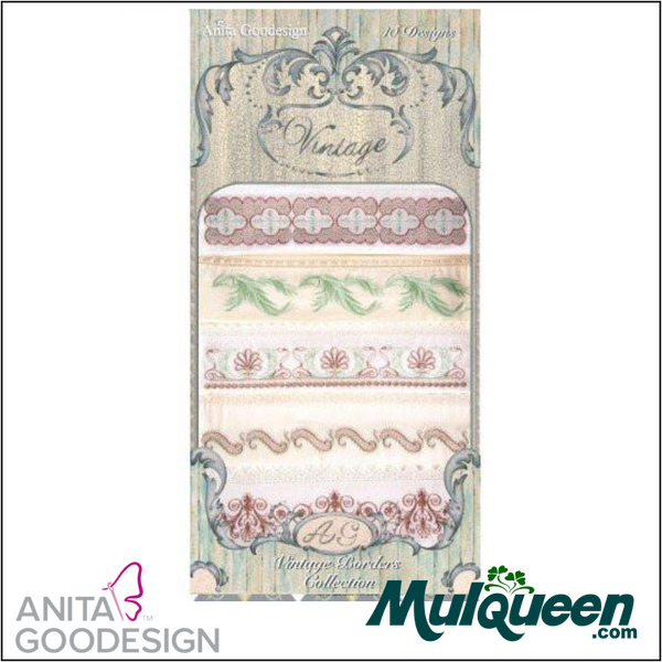 Anita Goodesign - Heirloom Collection - Vintage Borders