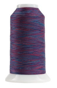 OMNI VARIEGATED - TEX 30 POLY - 2,000 YD CONE - BERRY SMOOTHIE #9041